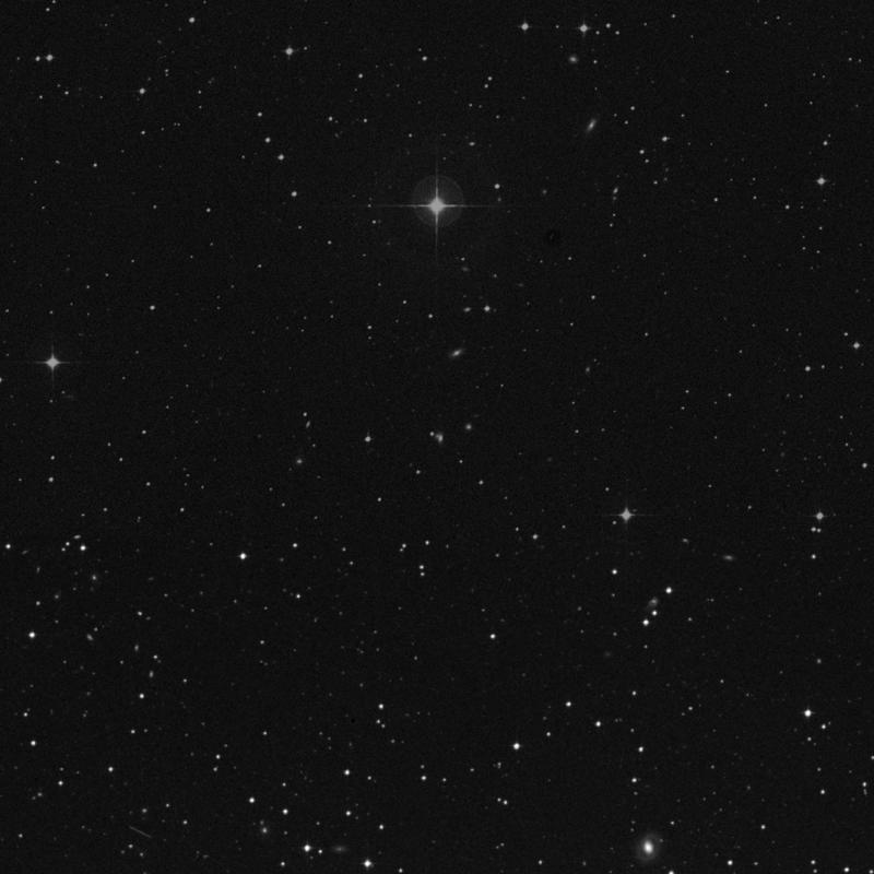Image of NGC 7287 - Galaxy Pair in Aquarius star