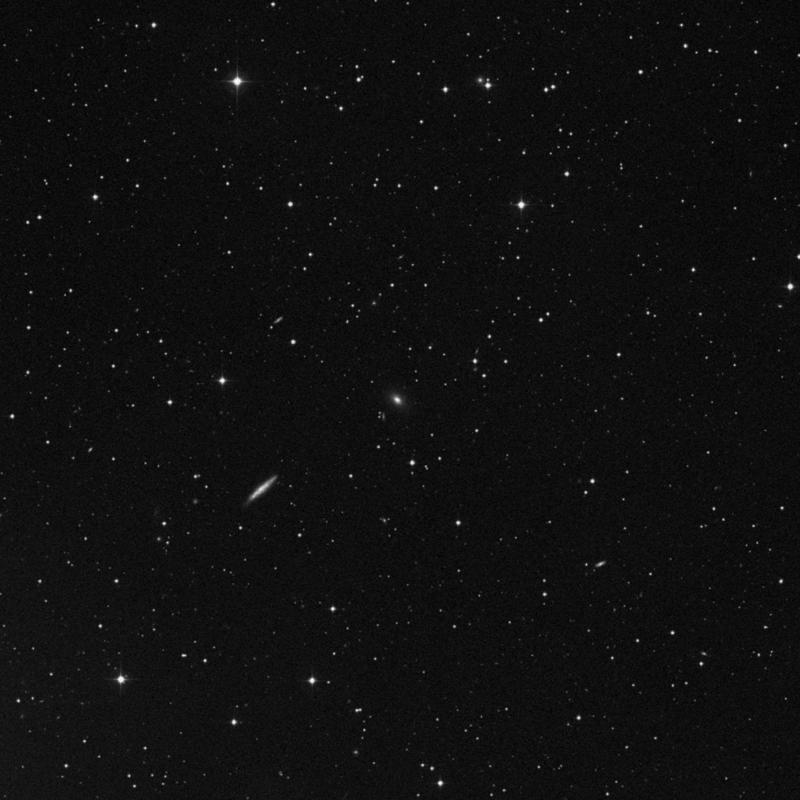 Image of NGC 7346 - Elliptical (E?) Galaxy in Pegasus star