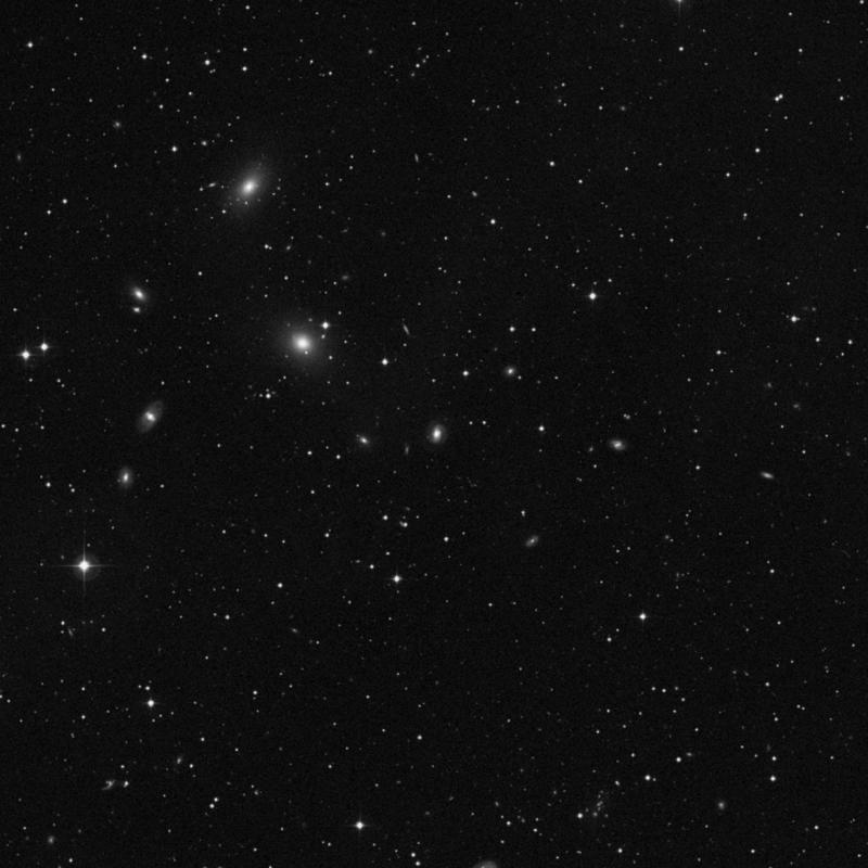 Image of NGC 7383 - Lenticular Galaxy in Pegasus star