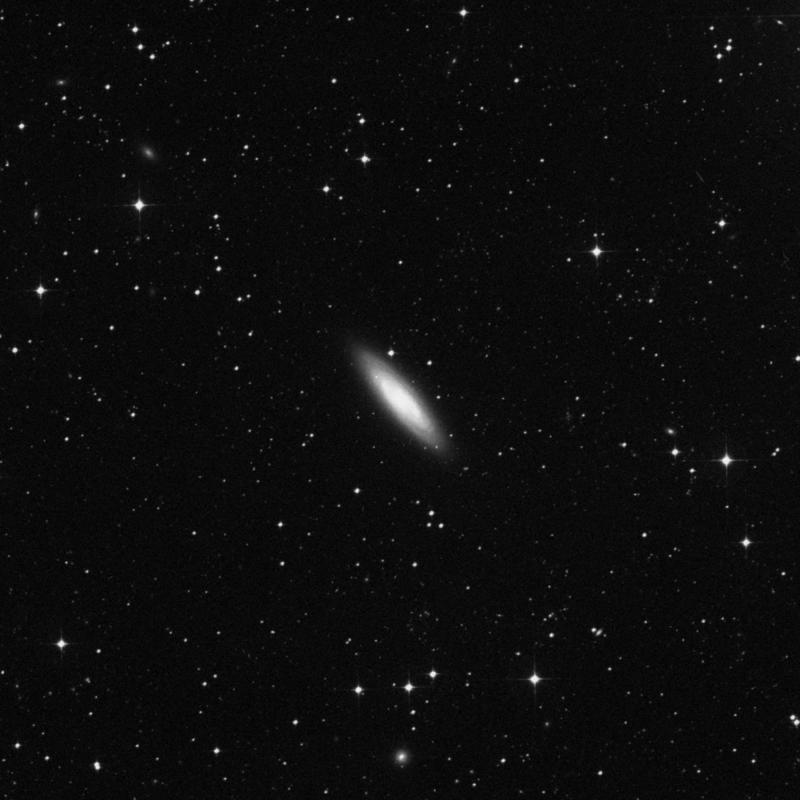Image of NGC 7410 - Barred Spiral Galaxy in Grus star