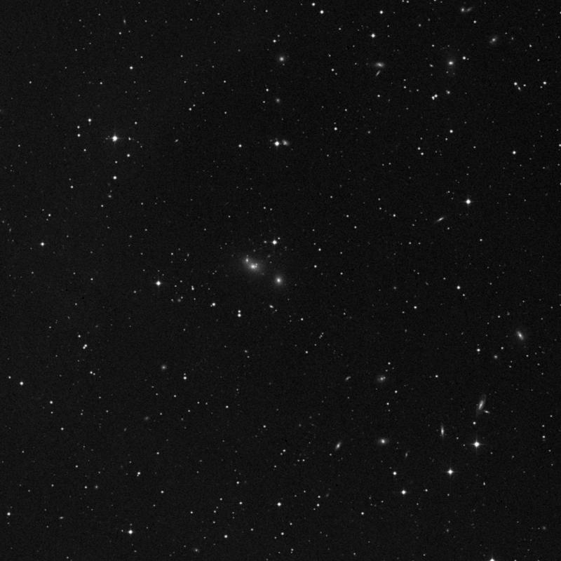 Image of NGC 7474 - Elliptical Galaxy in Pegasus star