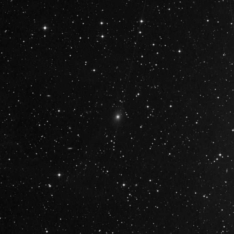 Image of NGC 7487 - Elliptical Galaxy in Pegasus star