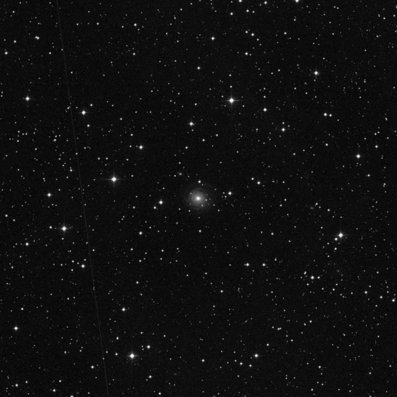 Image of NGC 7490 - Spiral Galaxy in Pegasus star