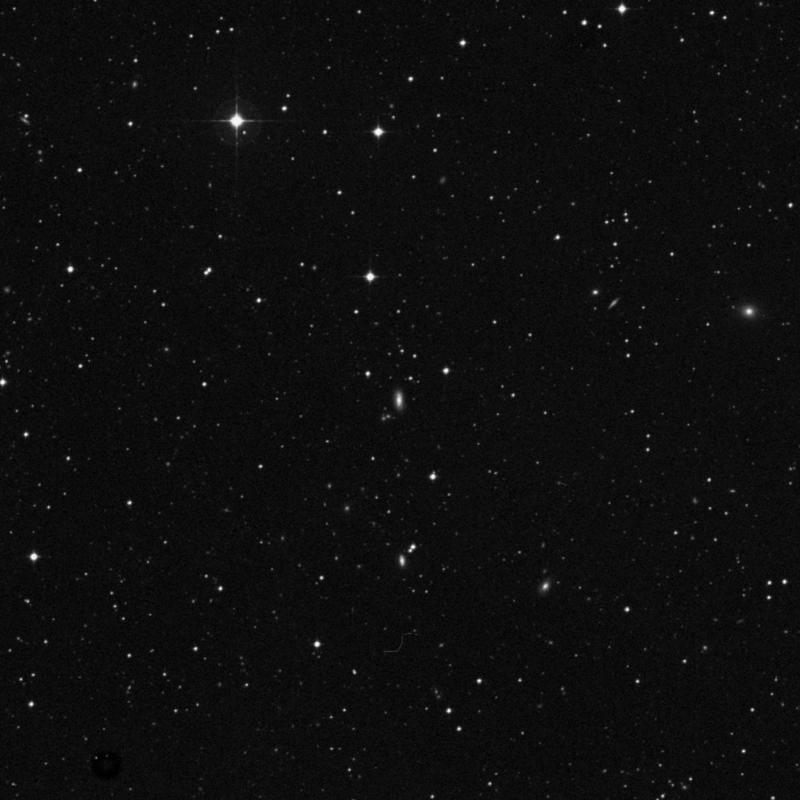 Image of NGC 7498 - Spiral Galaxy in Aquarius star