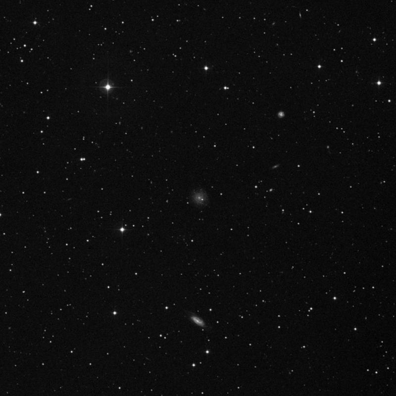 Image of NGC 7535 - Spiral Galaxy in Pegasus star