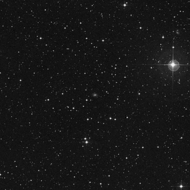 Image of IC 1321 - Barred Spiral Galaxy in Capricornus star