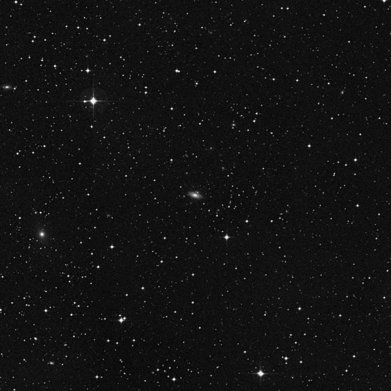 Image of IC 1333 - Lenticular Galaxy in Capricornus star