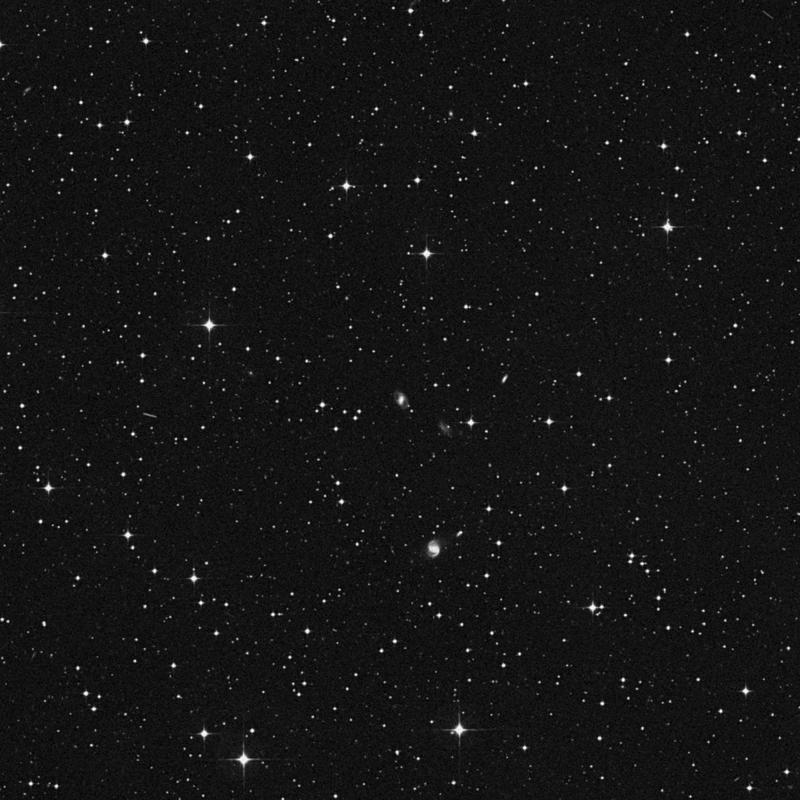 Image of IC 1338 - Barred Spiral Galaxy in Capricornus star