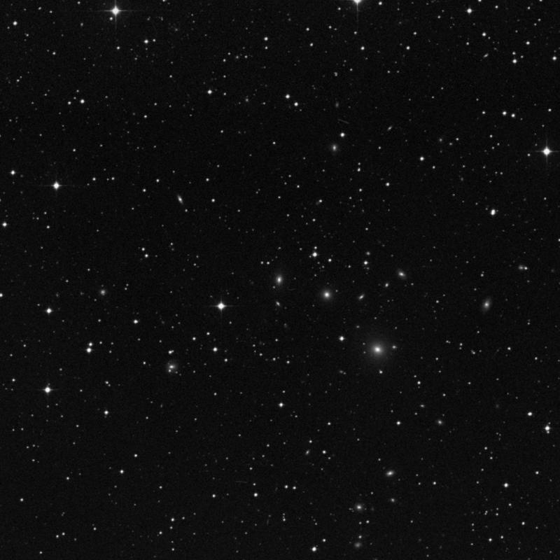 Image of IC 1393 - Lenticular Galaxy in Capricornus star