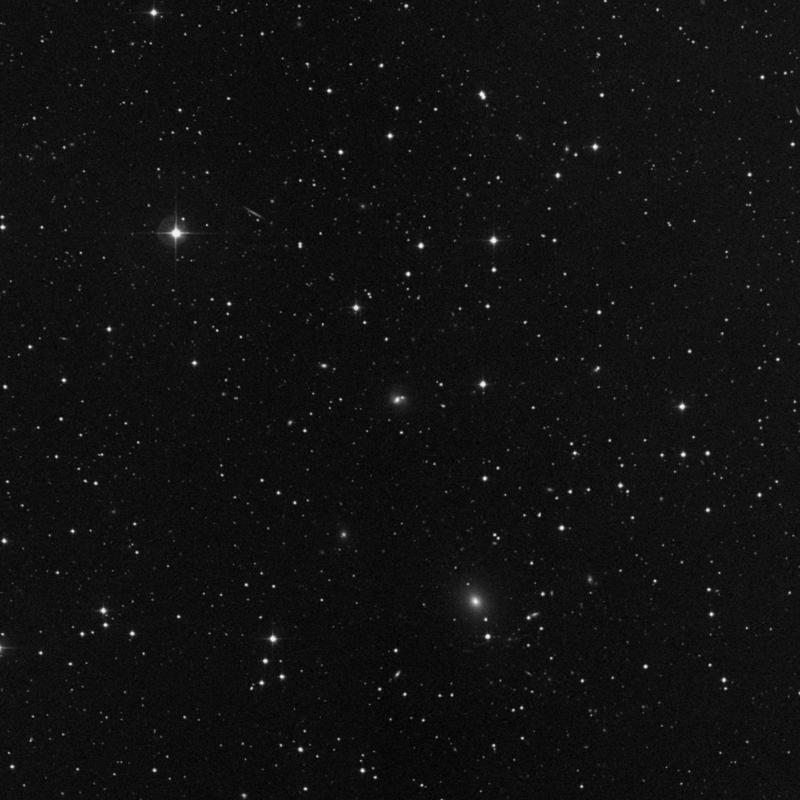 Image of IC 1407 - Elliptical/Spiral Galaxy in Pegasus star