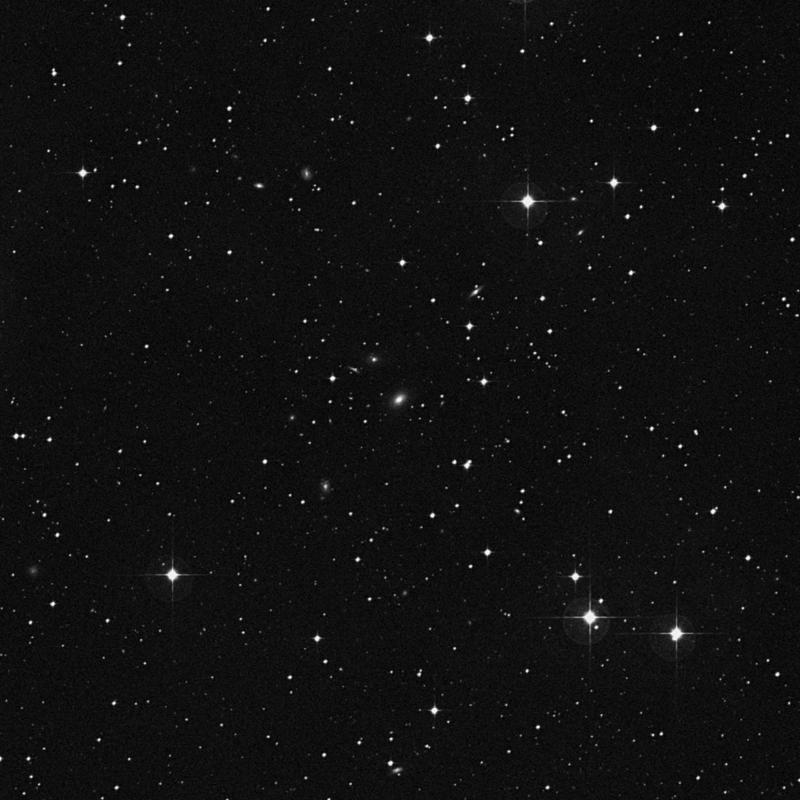 Image of IC 1410 - Elliptical Galaxy in Aquarius star