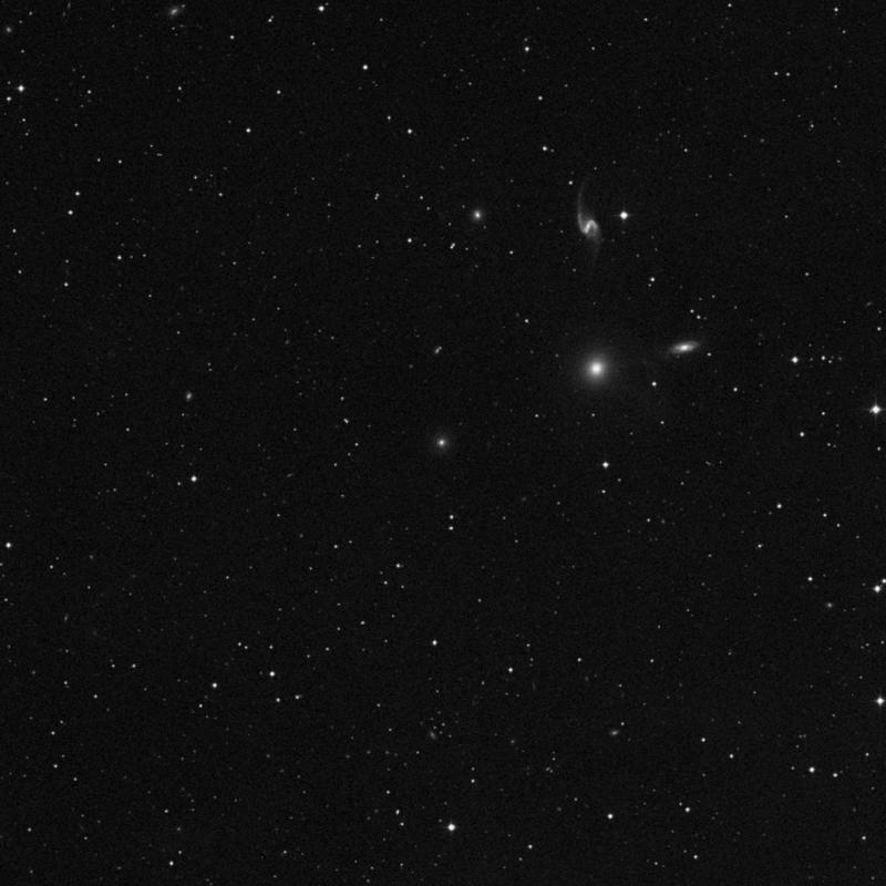 Image of NGC 7558 - Lenticular Galaxy in Pegasus star