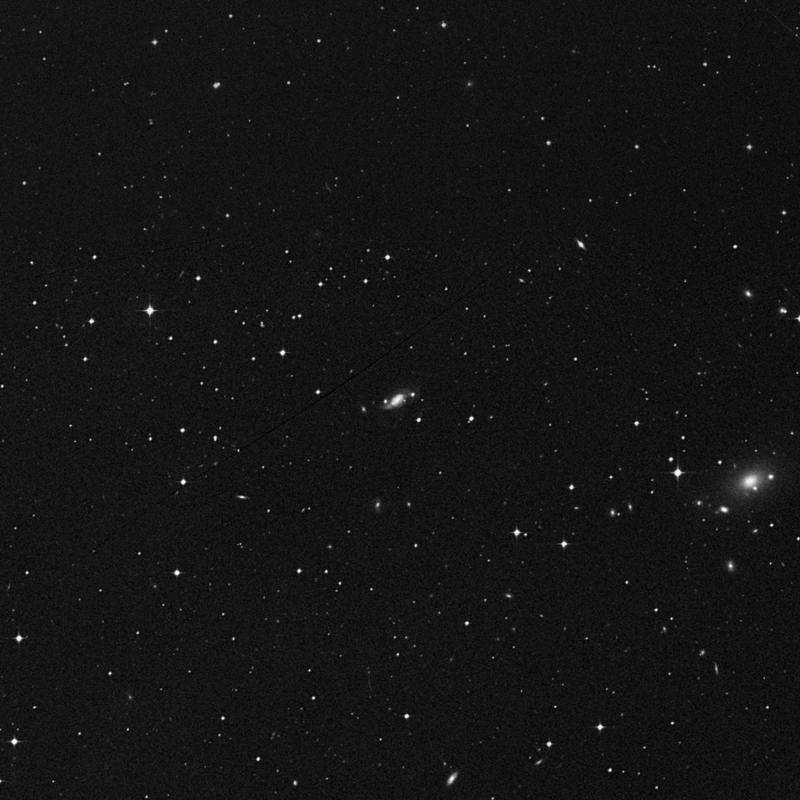Image of NGC 7566 - Barred Spiral Galaxy in Pisces star