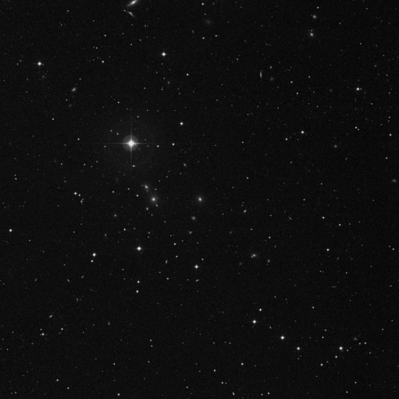 Image of NGC 7579 - Galaxy in Pegasus star