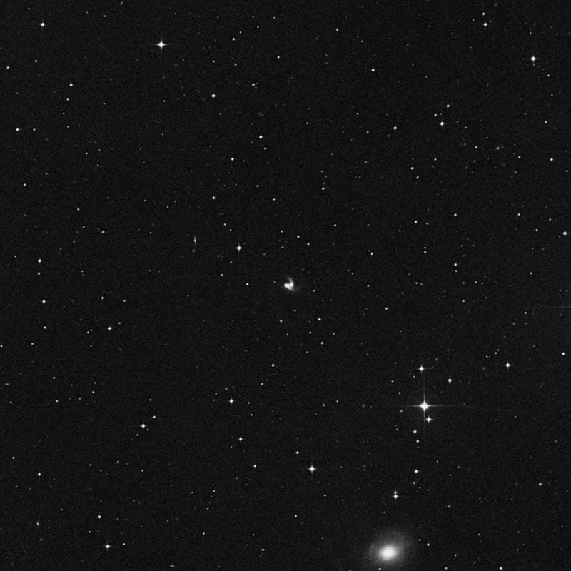 Image of NGC 7592B - Spiral Galaxy in Aquarius star