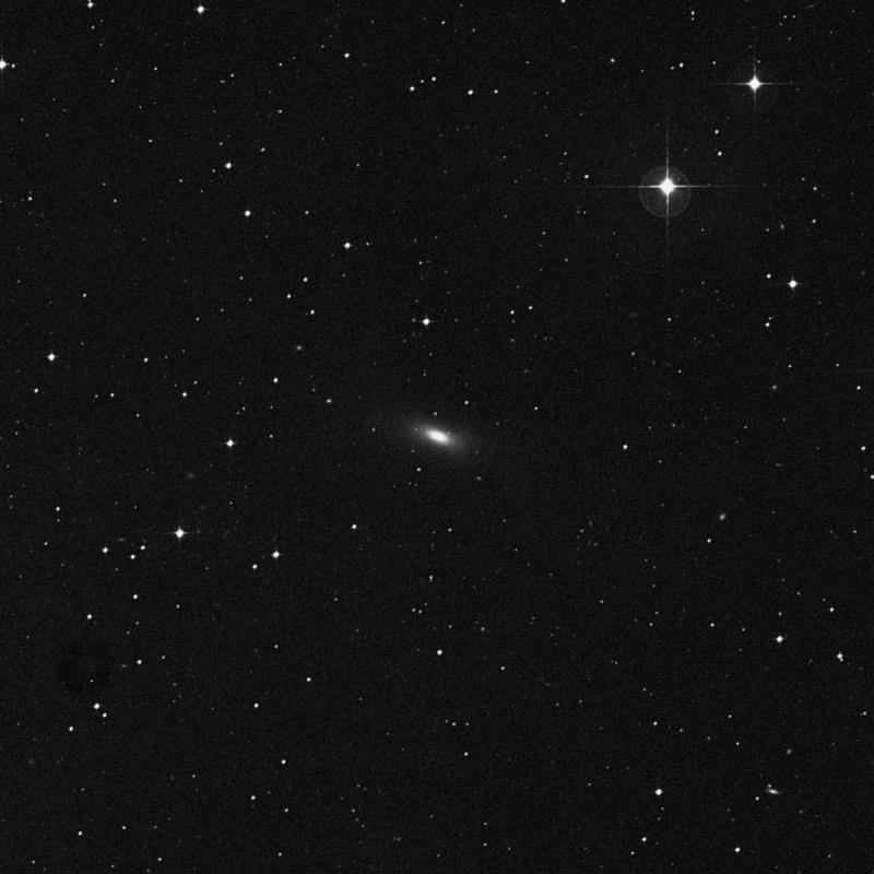 Image of NGC 7600 - Elliptical/Spiral Galaxy in Aquarius star