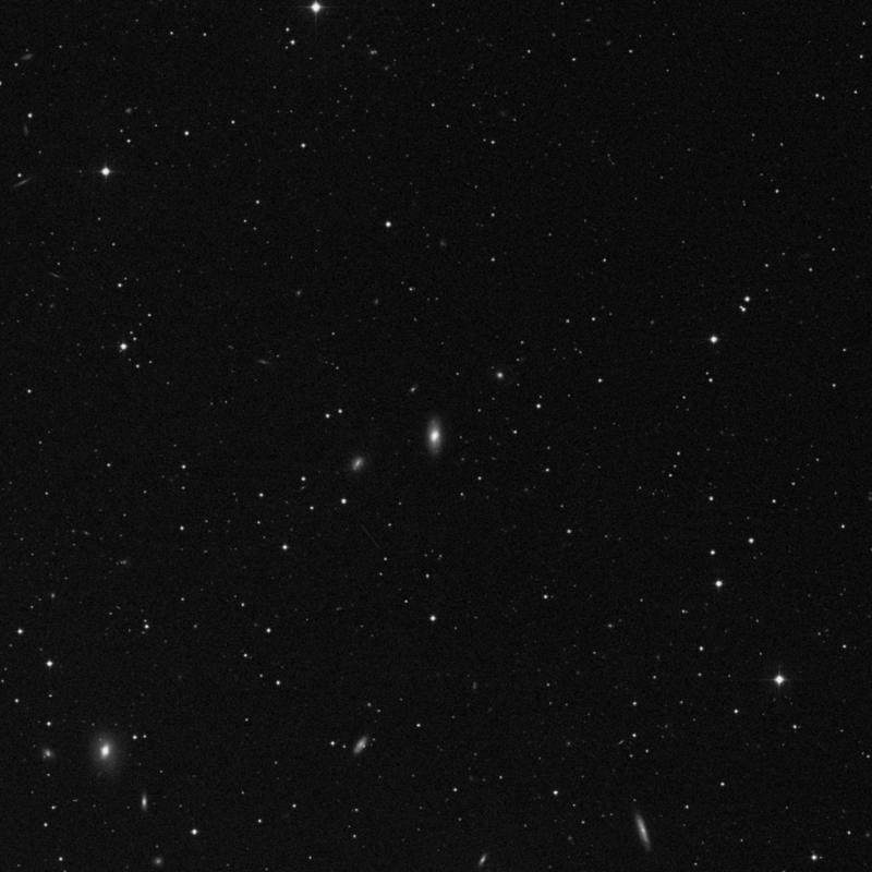 Image of NGC 7612 - Lenticular Galaxy in Pegasus star