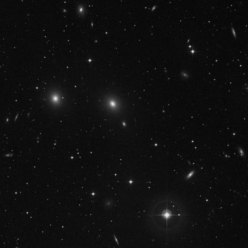 Image of NGC 7617 - Lenticular Galaxy in Pegasus star