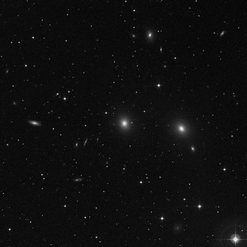 Image of NGC 7626 - Elliptical Galaxy in Pegasus star