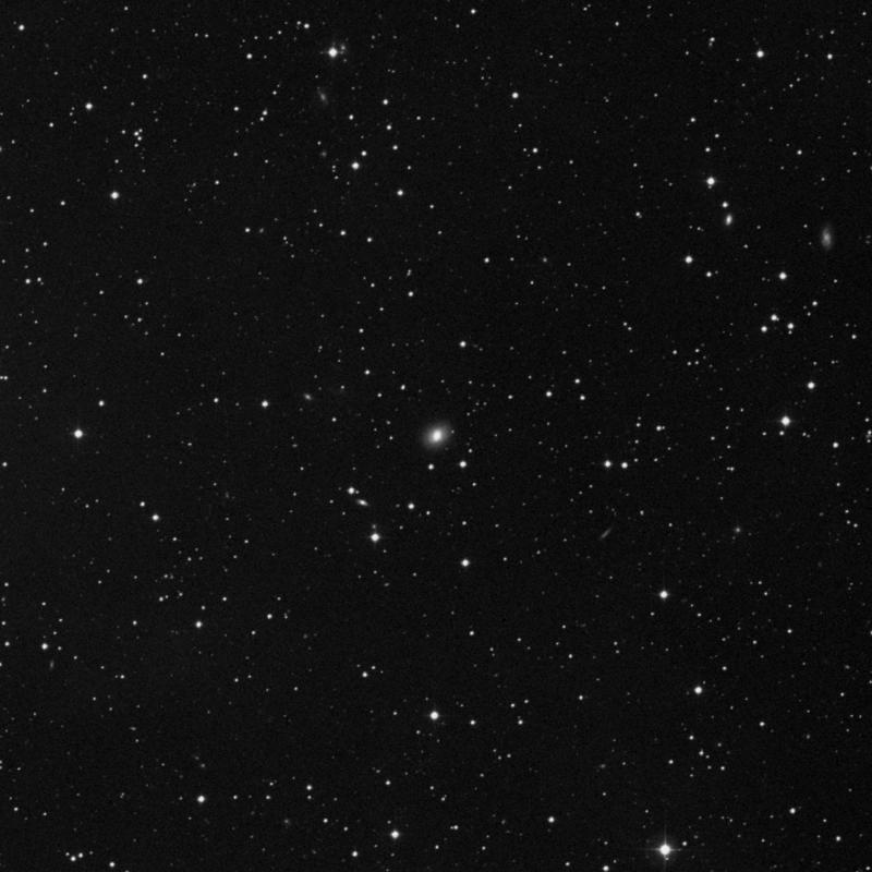 Image of NGC 7628 - Elliptical Galaxy in Pegasus star