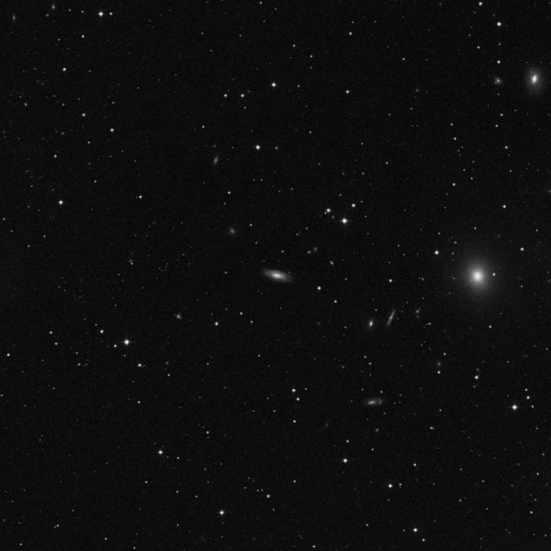 Image of NGC 7631 - Spiral Galaxy in Pegasus star