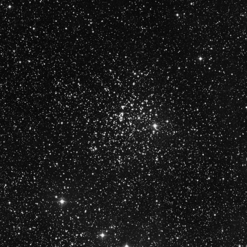 Image of Messier 52 (The Scorpion) - Open Cluster in Cassiopeia star