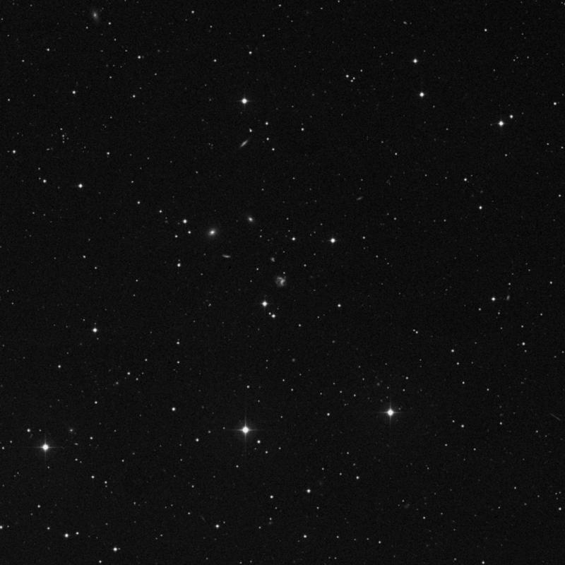 Image of NGC 7638 - Galaxy Pair in Pegasus star