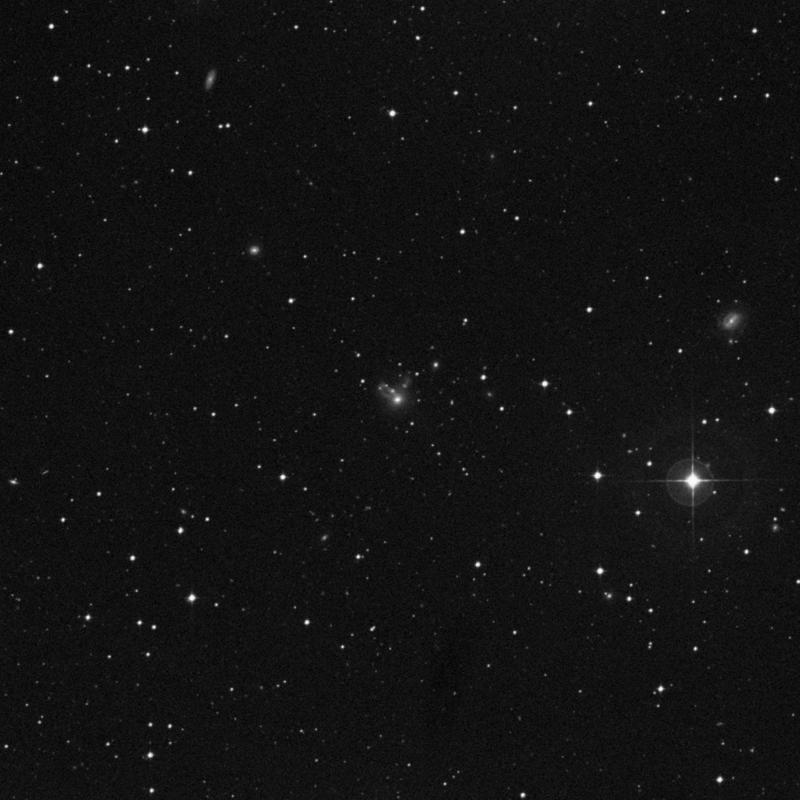 Image of NGC 7656 - Lenticular Galaxy in Aquarius star