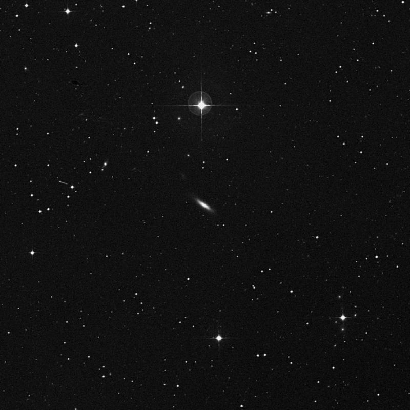 Image of NGC 7709 - Lenticular Galaxy in Aquarius star
