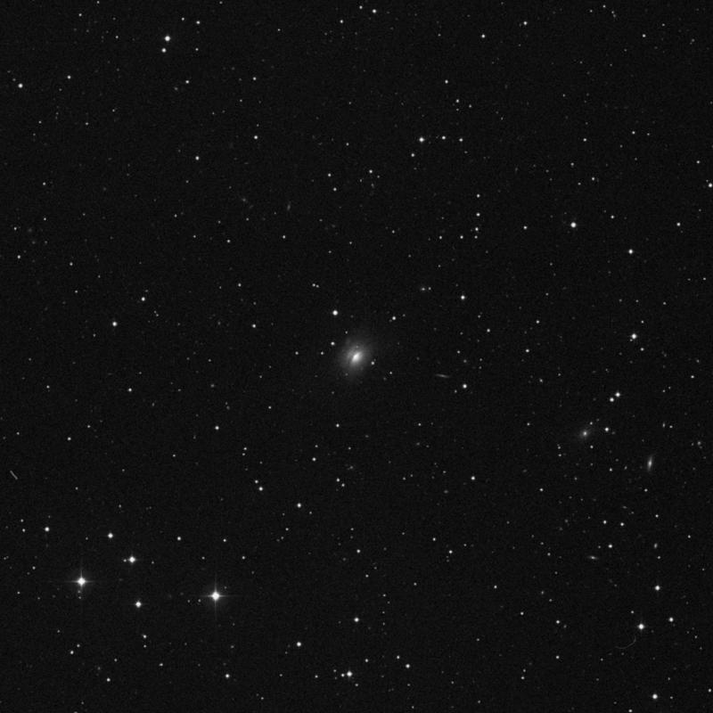 Image of NGC 7722 - Lenticular Galaxy in Pegasus star