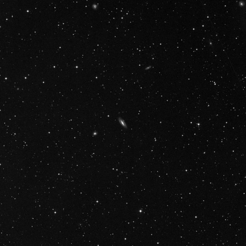 Image of NGC 7747 - Barred Spiral Galaxy in Pegasus star