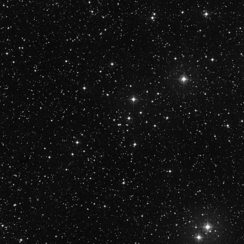 Image of NGC 7801 - Open Cluster in Cassiopeia star