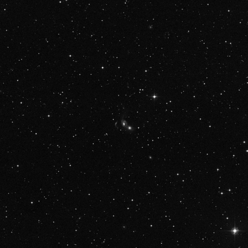 Image of NGC 7806 - Intermediate Spiral Galaxy in Pegasus star