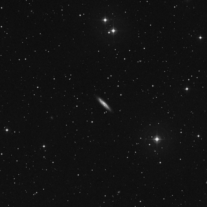 Image of NGC 7817 - Spiral Galaxy in Pegasus star