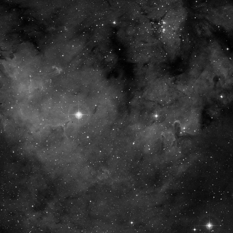 Image of NGC 7822 - HII Ionized region star