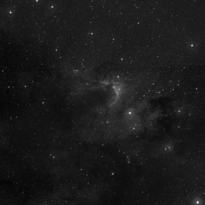 Image of C009 (Cave Nebula) - HII Ionized region star