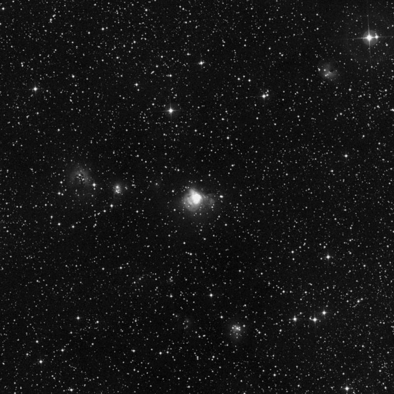 Image of IC 1470 - HII Ionized region in Cepheus star