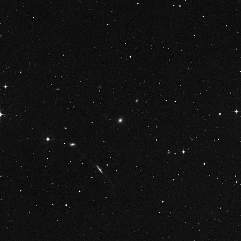 Image of IC 1505 - Elliptical Galaxy in Aquarius star