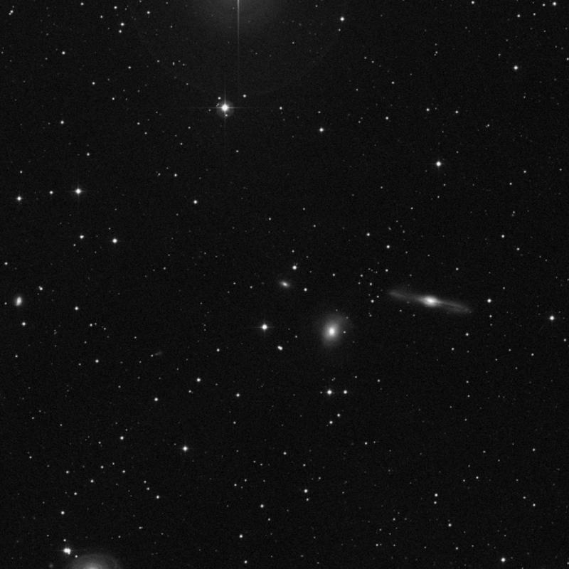 Image of IC 1730 - Spiral (?) Galaxy star