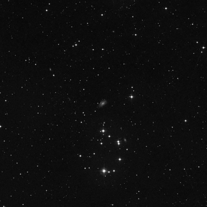 Image of IC 1731 - Intermediate Spiral Galaxy in Triangulum star