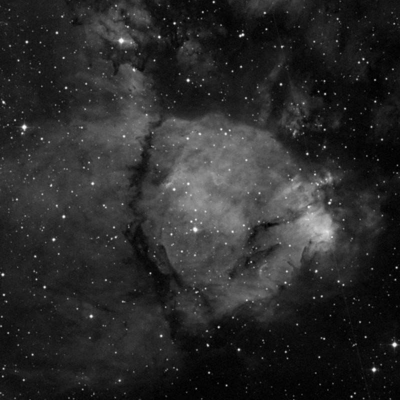 Image of IC 1795 - HII Ionized region in Cassiopeia star