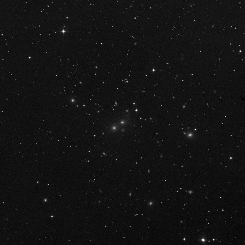 Image of IC 1803 - Elliptical Galaxy in Aries star