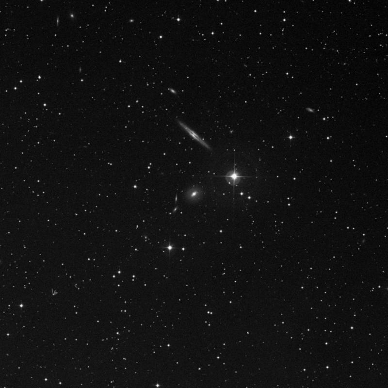 Image of IC 1815 - Lenticular Galaxy in Triangulum star