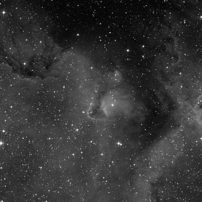 Image of IC 1871 - HII Ionized region in Cassiopeia star