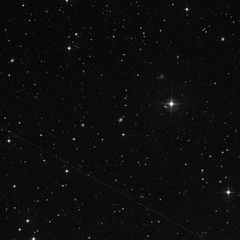 Image of IC 2018 - Intermediate Spiral Galaxy in Dorado star