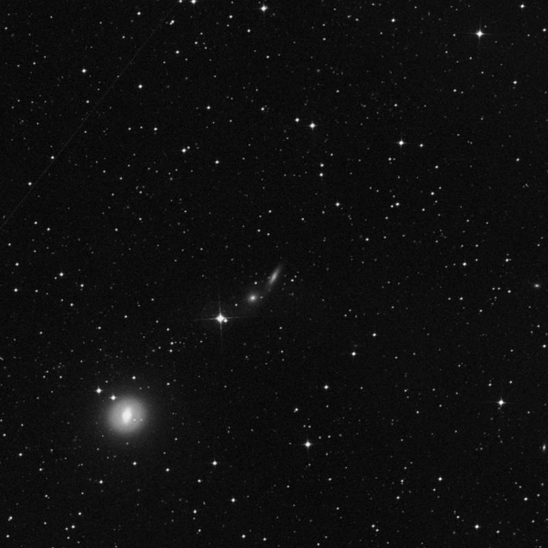 Image of IC 2038 - Spiral Galaxy in Dorado star