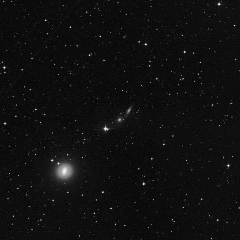 Image of IC 2039 - Elliptical/Spiral Galaxy in Dorado star