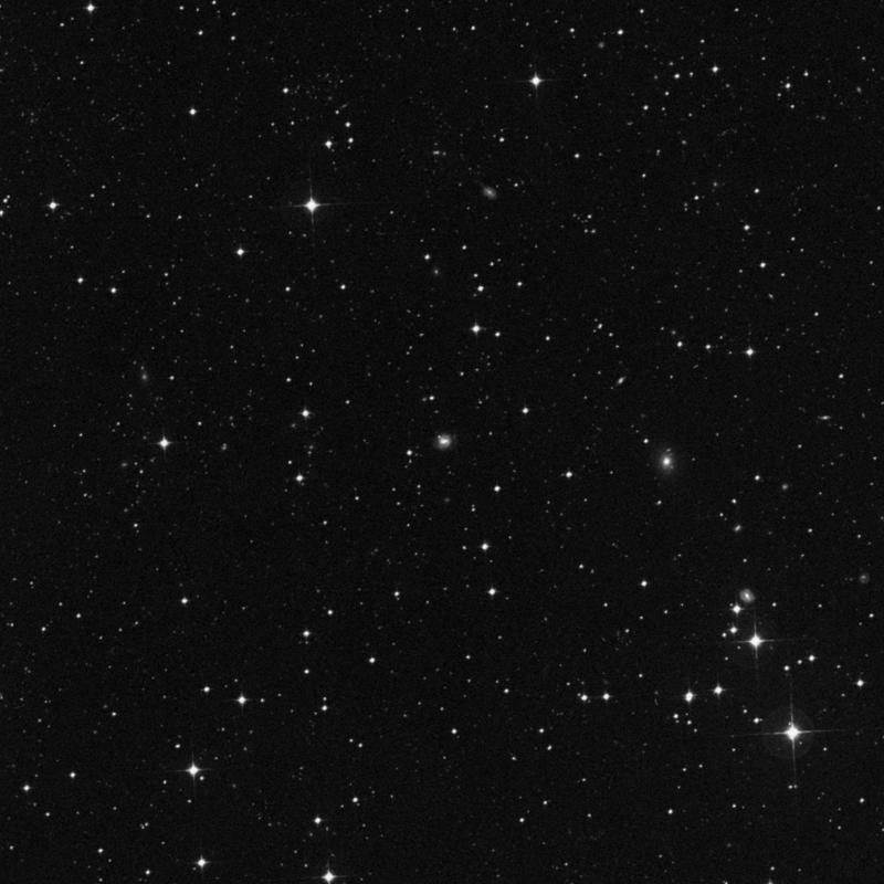 Image of IC 2046 - Barred Spiral Galaxy in Dorado star