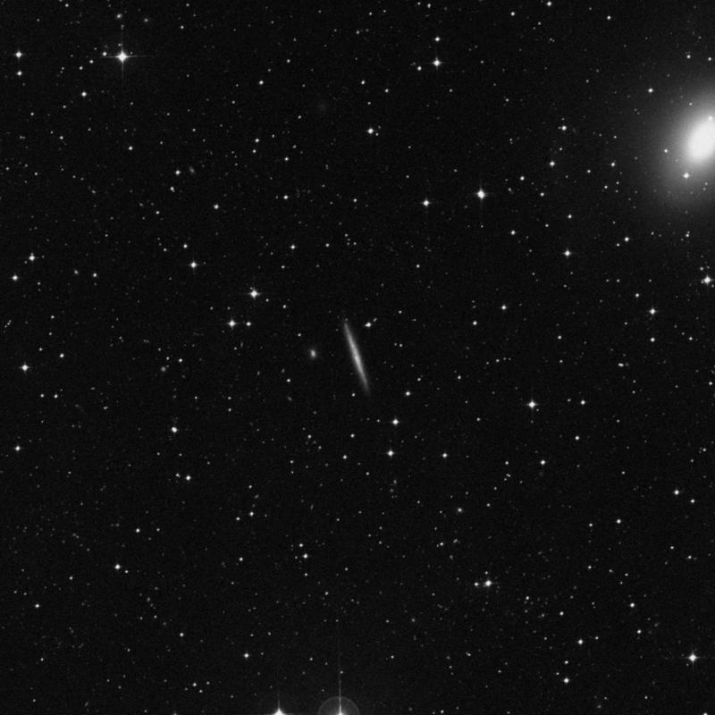 Image of IC 2058 - Spiral Galaxy in Dorado star