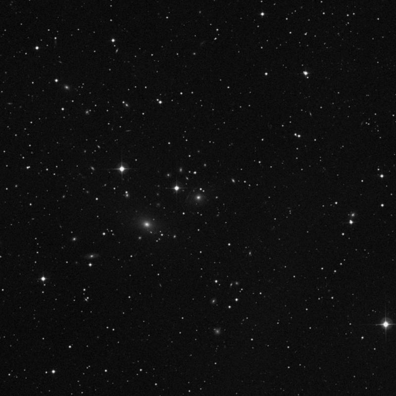 Image of IC 226 - Elliptical Galaxy in Triangulum star